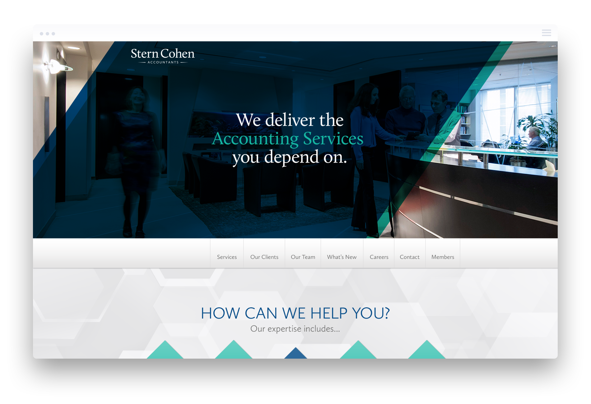 Accounting Firm Web Design Services in Toronto