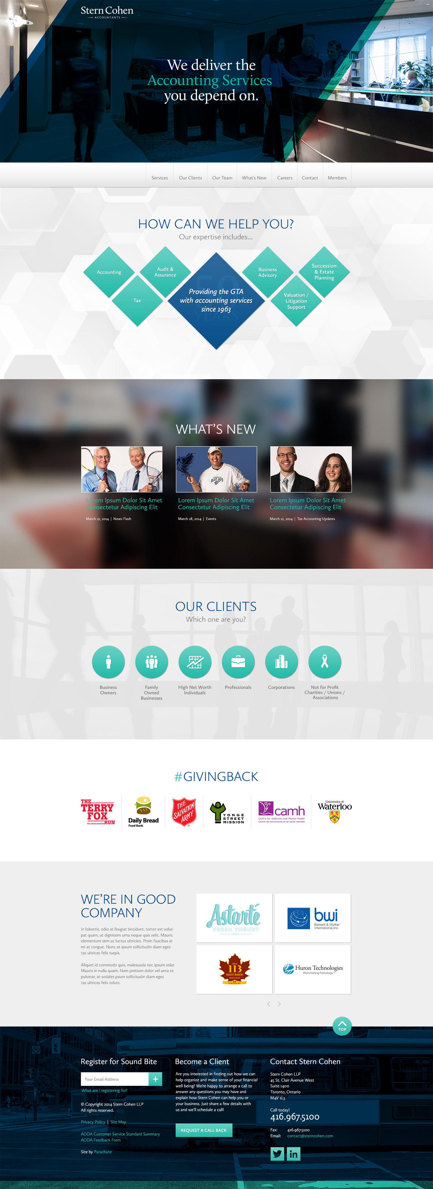 Website Design for Accounting Firms in Toronto