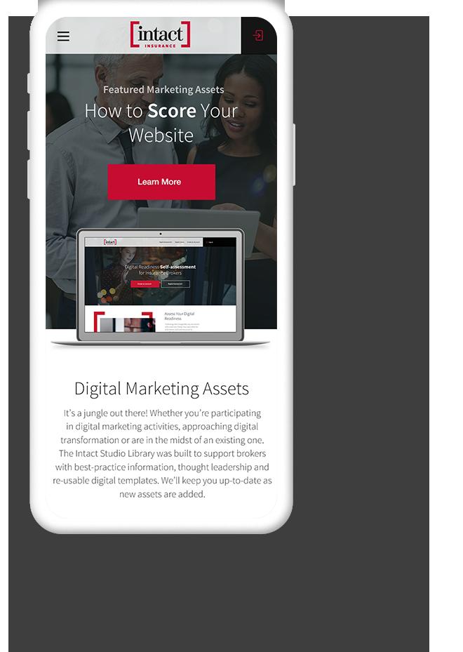 Mobile Web Design for Insurance Companies