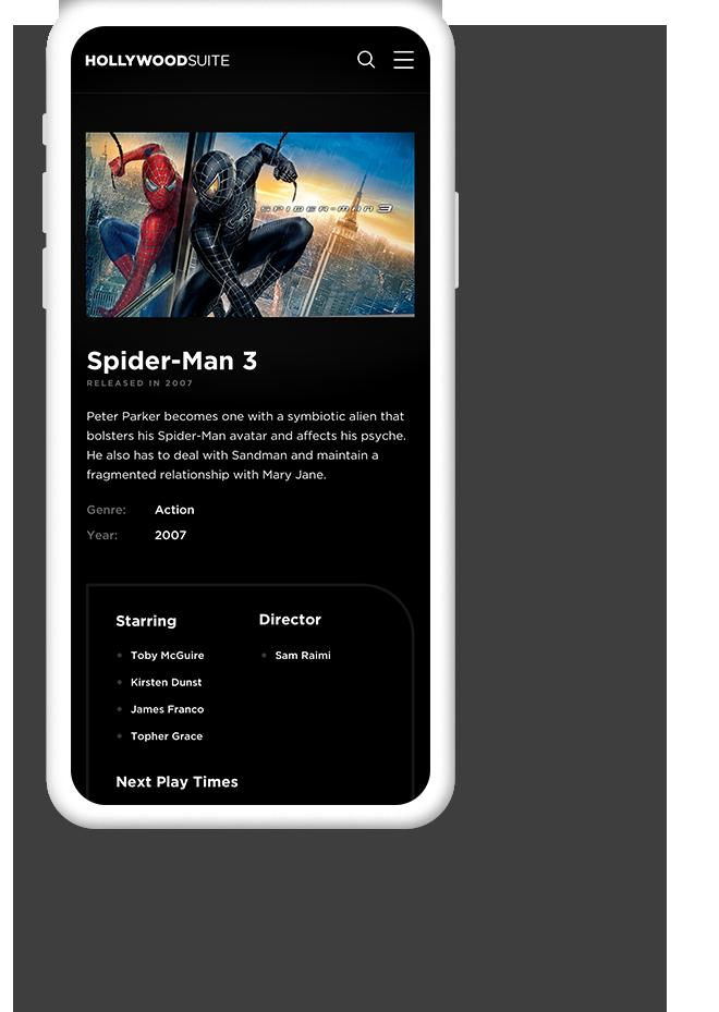 Mobile Website Design for Entertainment Providers