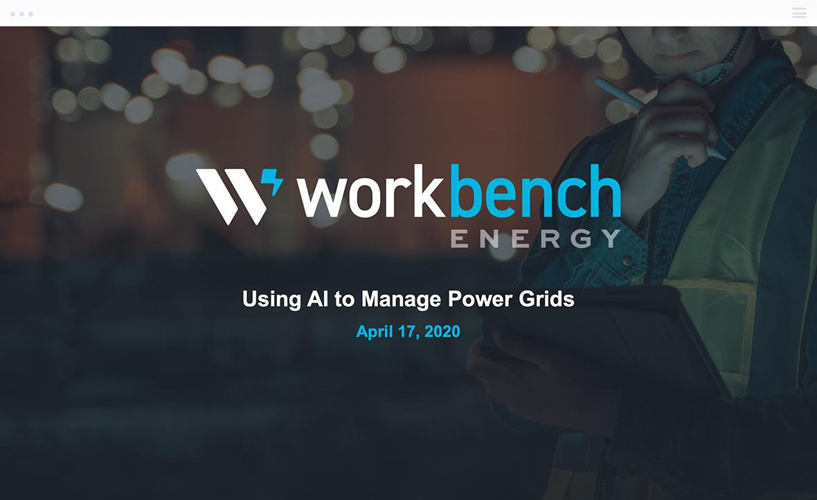 Workbench Energy Pitch Deck
