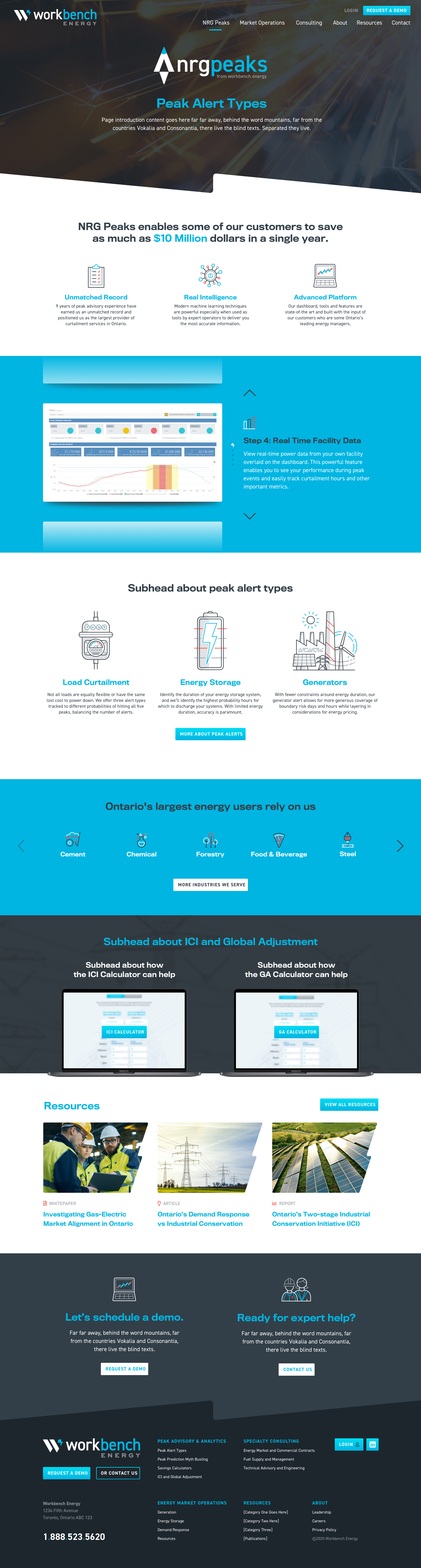 Web Design for Industrial Companies - Workbench Energy