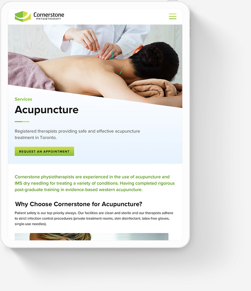 Responsive Web Design for Physiotherapy Clinics