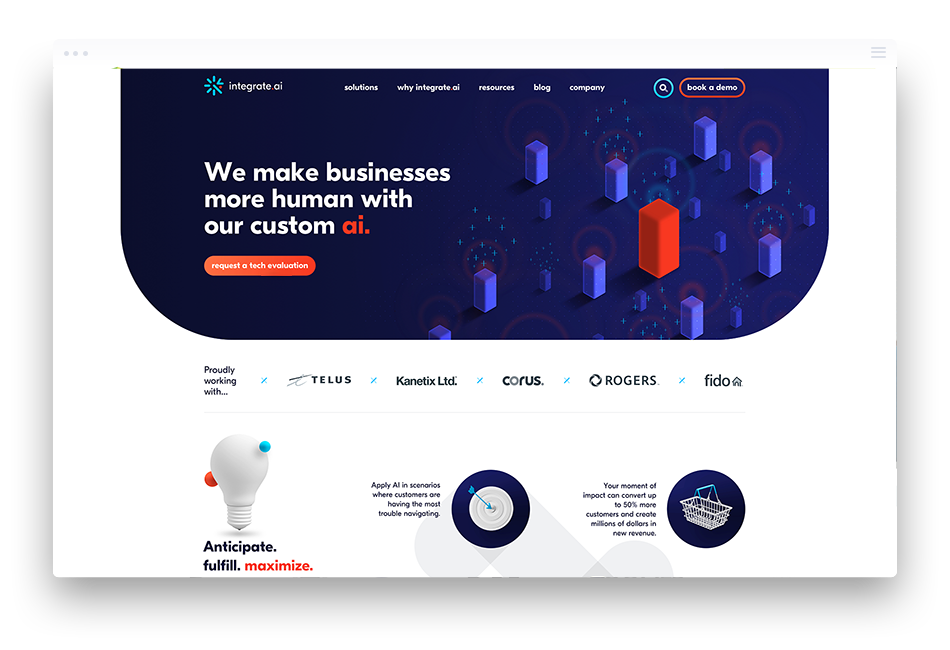 Integrate AI Web Design Case Study